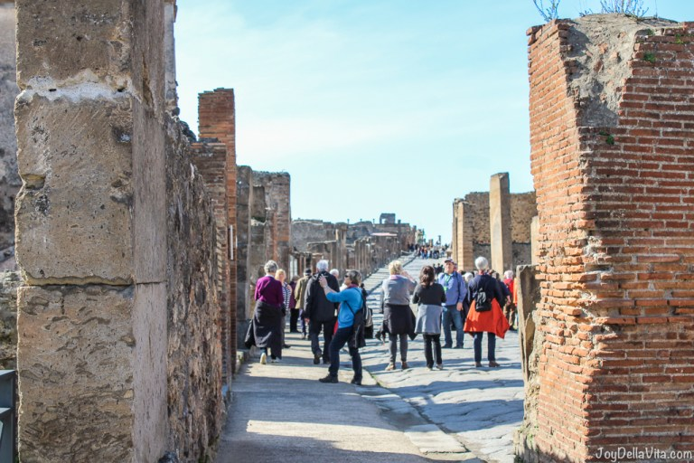 Video: Day Trip Pompeii in Winter Season