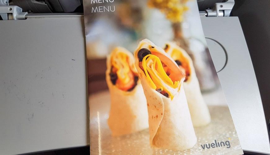 Vueling On Board Prices Pricelist Food Drinks JoyDellaVita