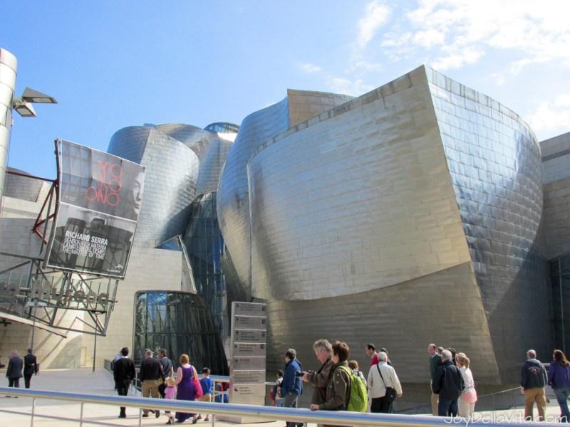 Guggenheim Bilbao impressive architecture by Frank Gehry Travel Blog Joy Della Vita