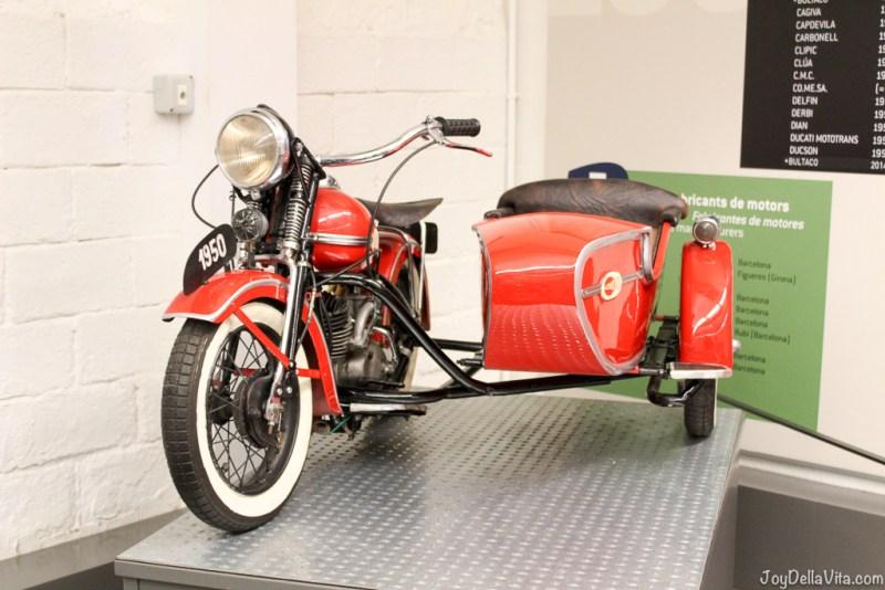 JVMB 48cc 1951 Motorbike Museum Museo Moto in Barcelona Joy Della Vita