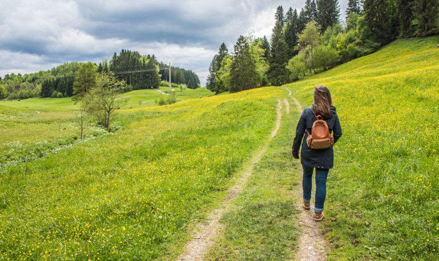 Hiking Routes around Oberstaufen in the bavarian Allgäu