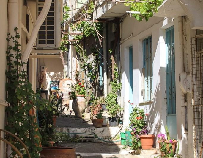 Strolling around Kritsa & Café Saridakis Kritsa, Crete