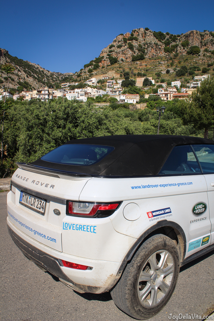 Land Rover Experience Greece 2017 Stop in Kritsa, Crete