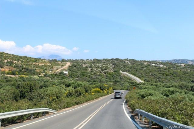arriving back at Daios Cove Resort - Land Rover Experience Greece Tour 2 Mountains Sea - Travelblog JoyDellaVita.com