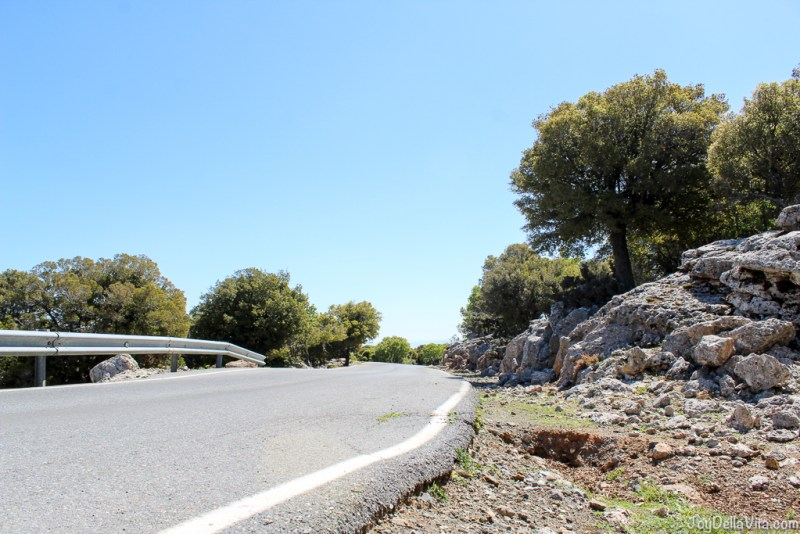 Streets to Lassithi Plateau, Crete - Land Rover Experience Greece Tour 2 Mountains Sea - Travelblog JoyDellaVita.com