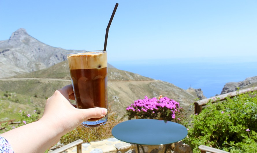 Lunch at Thalori Traditional Village in the south of Crete with stunning views