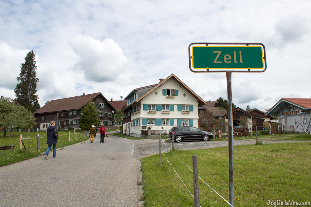 Zell near Oberstaufen, the oldest village in the Bavarian Allgäu - JoyDellaVita.com