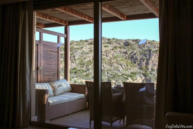 private balcony Luxury Hotel DAIOS COVE Agios Nikolaos Crete JoyDellaVita
