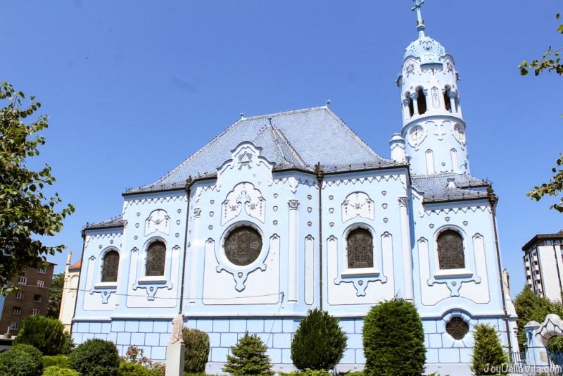 Church of St. Elisabeth / Blue Church in Bratislava -- Castle Old Town Tour by Bratislava Free Tour -  JoyDellaVita.com