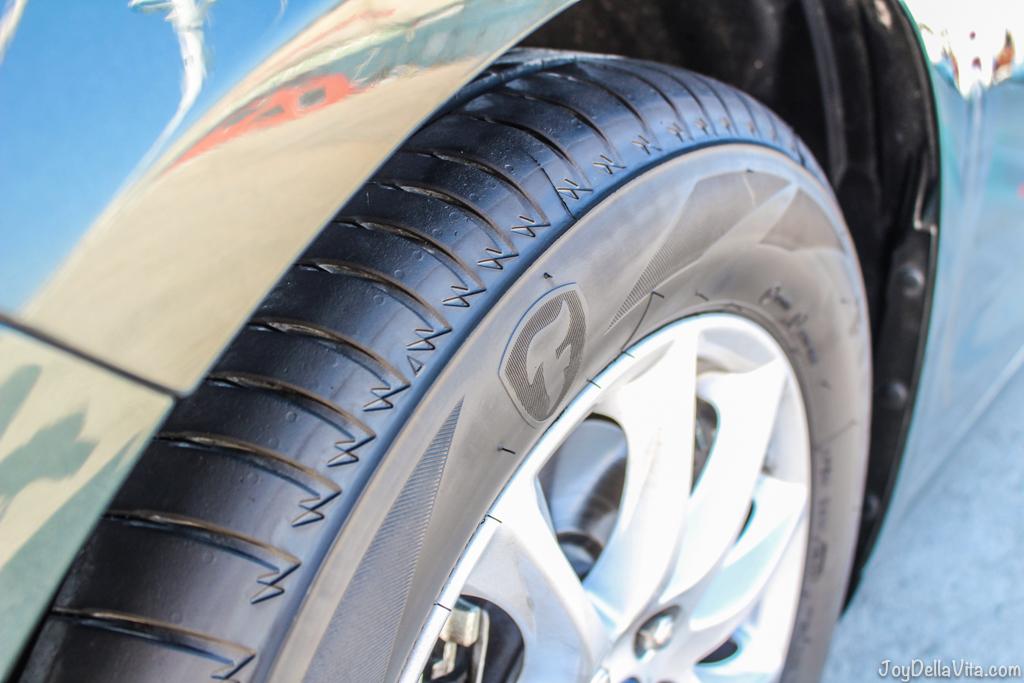 a brand new Firestone Tire - Firestone Roadhawk Tire Barcelona - Travel blog JoyDellaVita.com