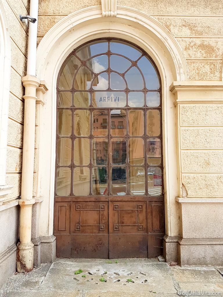 old Train Station Luino Lake Maggiore - JoyDellaVita.com
