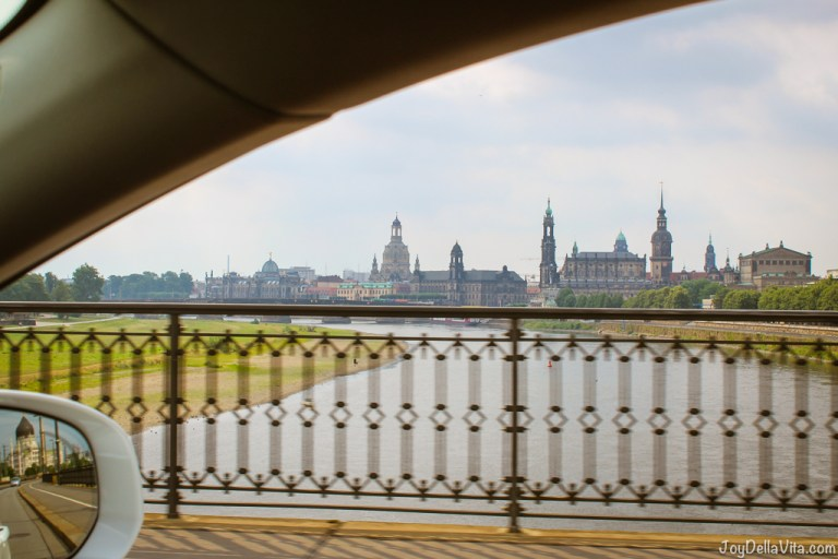How far is Dresden from Berlin?