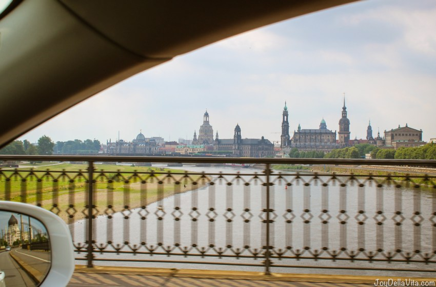 How far is Dresden from Berlin?