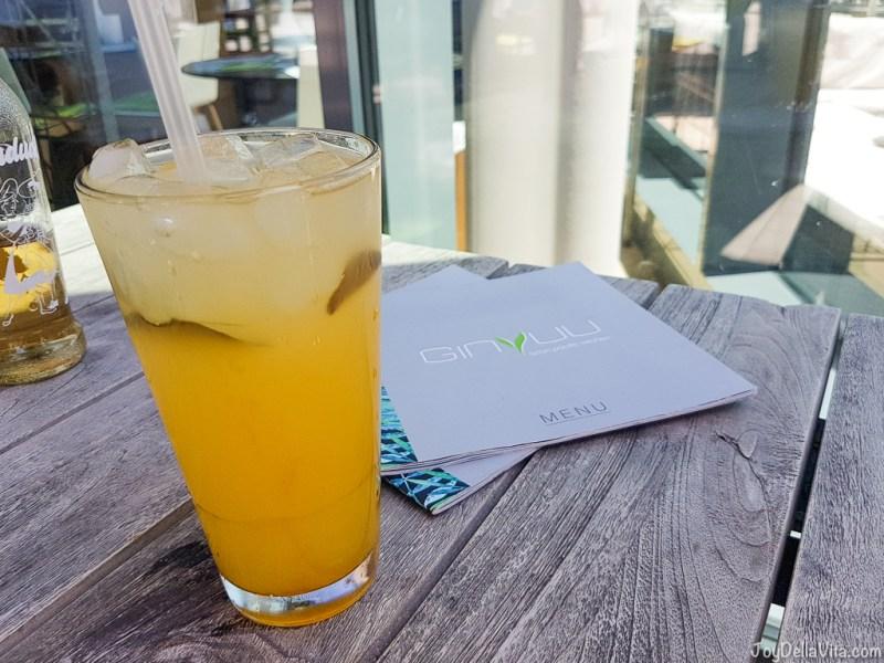 Sweet Passion Fruit Lemonade (3,95€ per 0,5l ) -- Pad Thai Stuttgart GinYuu Milaneo - JoyDellaVita.com