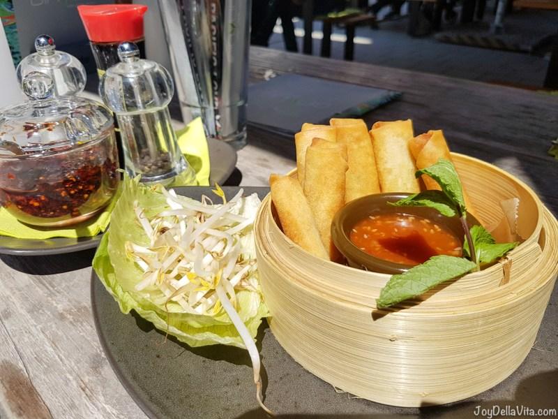 Fried Spring Rolls by GinYuu (3,95€) -- Pad Thai Stuttgart GinYuu Milaneo - JoyDellaVita.com