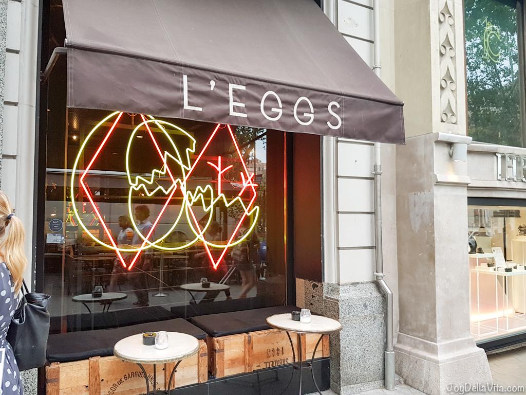 Restaurant LEGGS Barcelona Passeig de Gracia