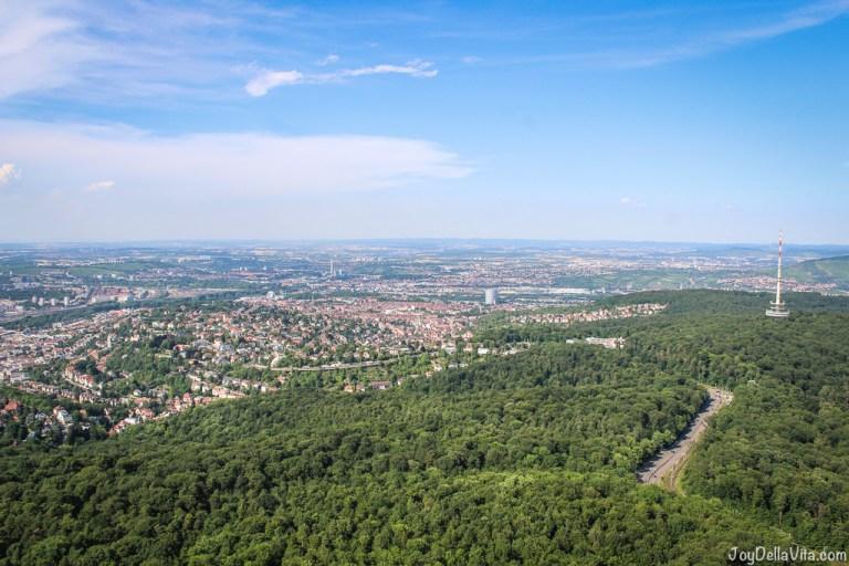 Best view in Stuttgart – on top of Stuttgart TV Tower
