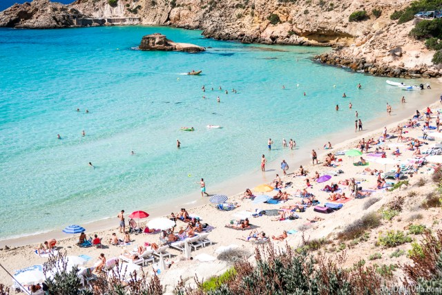 cliff holiday beach time ibiza