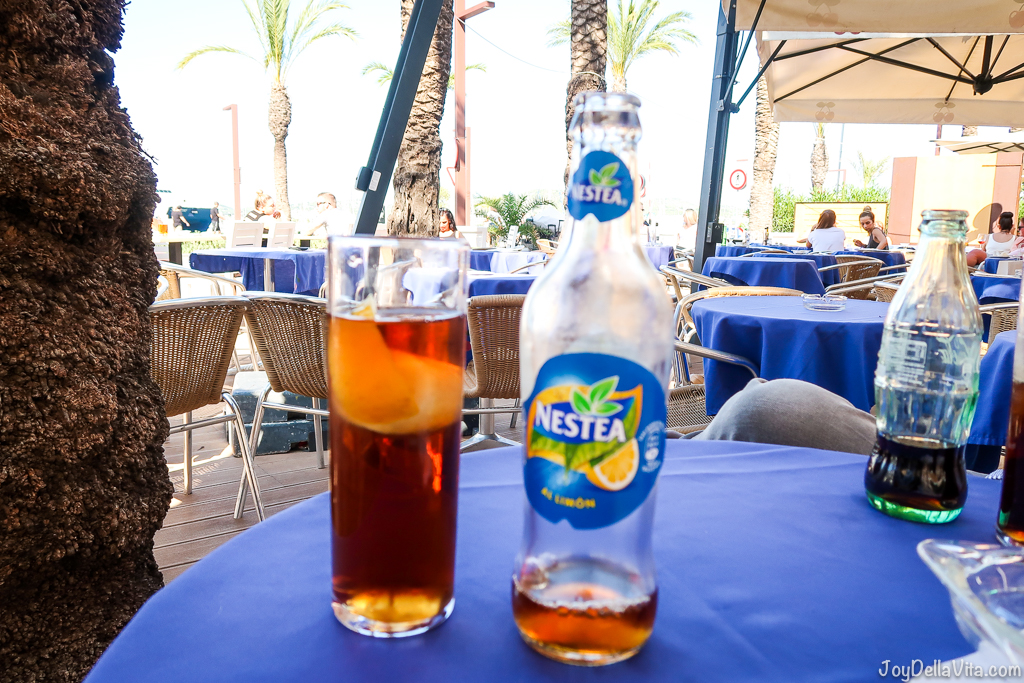 Nestea Ice Tea Ibiza Eivissa Sightseeing September
