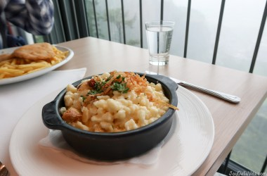 Lunch at Karren Panorama Restaurant in Dornbirn / Vorarlberg