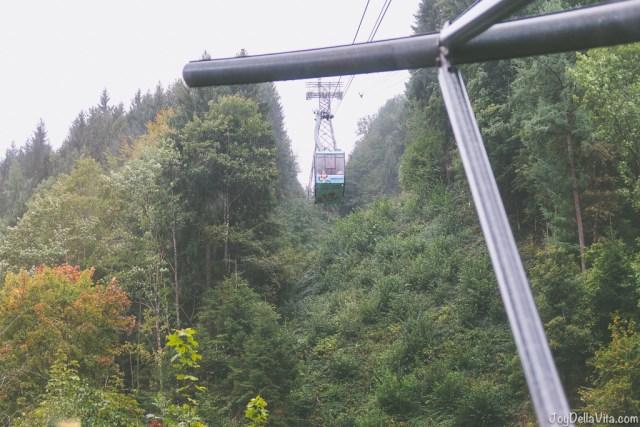 Karren cable car Dornbirn Vorarlberg