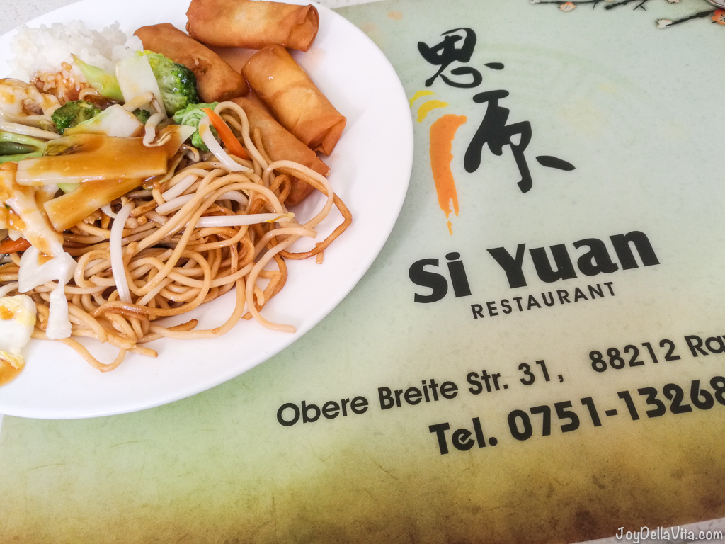Sushi Asian all-you-can-eat buffet Restaurant Ravensburg Si Yuan