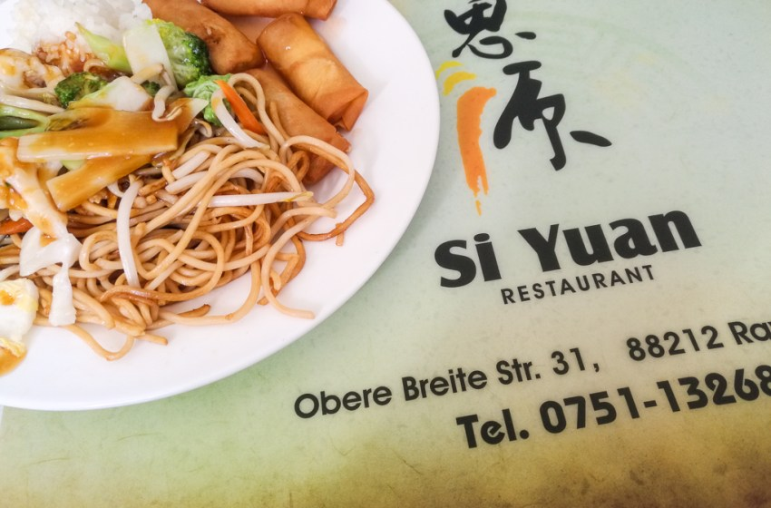 Sushi & Asian all-you-can-eat buffet Restaurant in Ravensburg Si Yuan