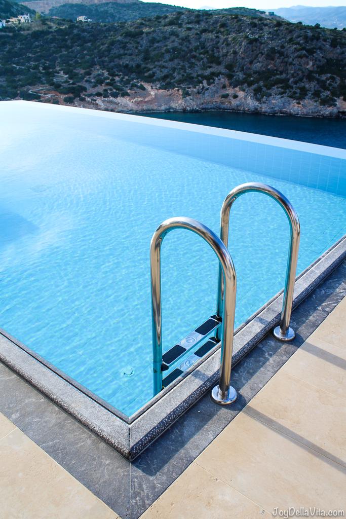 infinity pool daios cove the mansion luxury villa resort crete greece travelbl