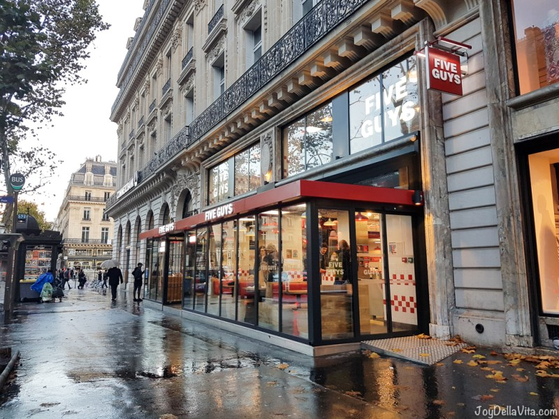 Five Guys, 17/19 Boulevard des Capucines, 75002 Paris