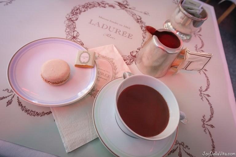 Hot Chocolate at Laduée at Champs Elysees in Paris