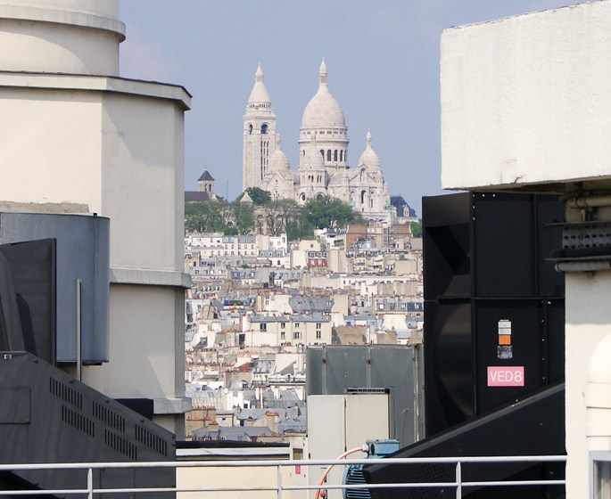 The panorama terrace is the number 1 reason you have to visit Galeries Lafayette Paris