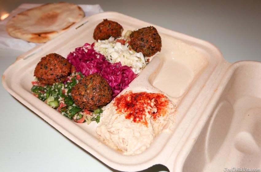 Falafel and Hummus by Fala Bar West Hollywood, ordered via uberEATS