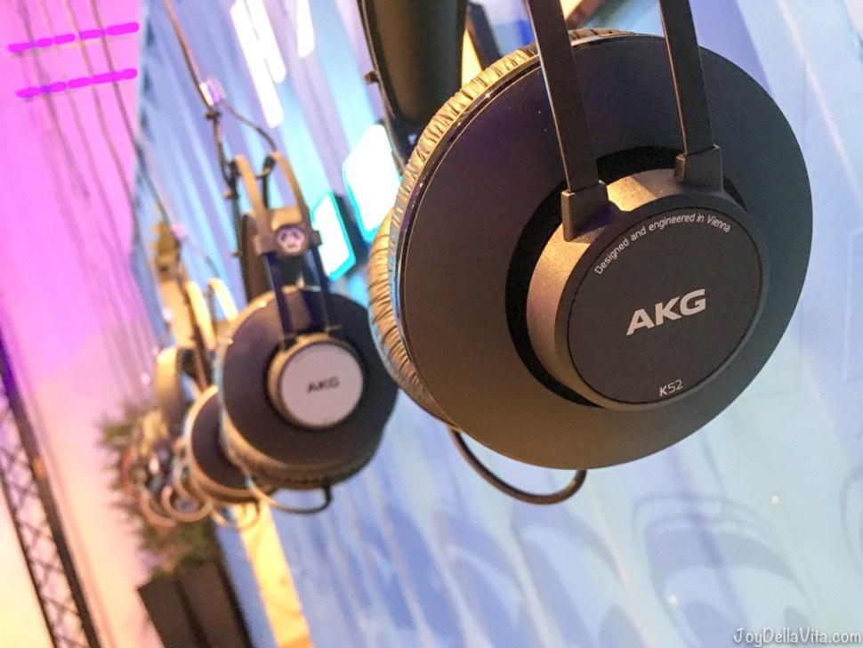 AKG headphones Inside HARMAN Experience Center Northridge