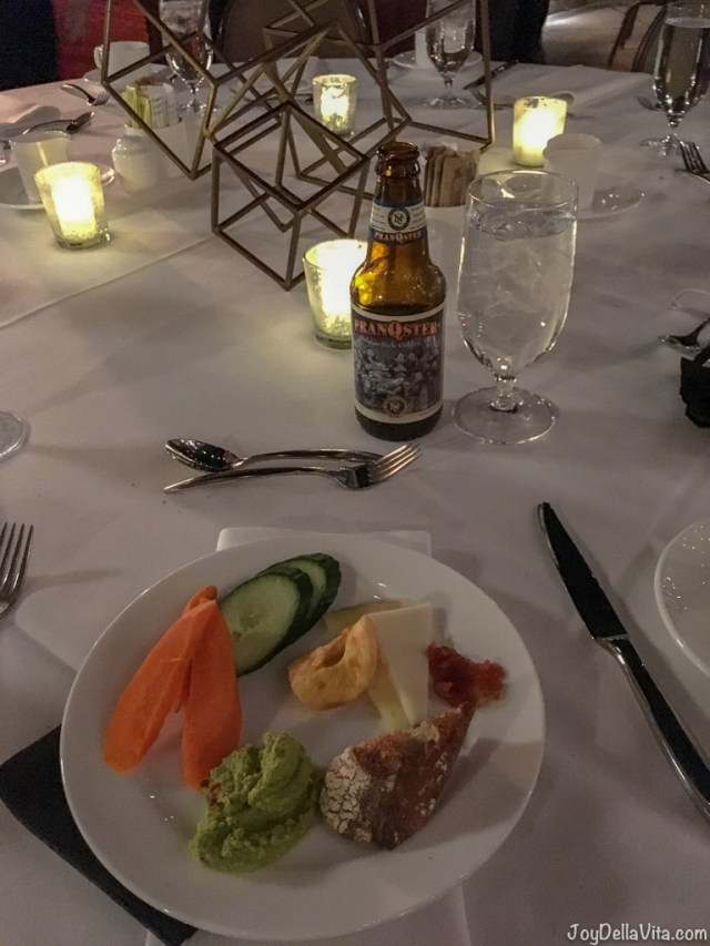 Dinner Outside Party Event Crudities The Garland Hotel North Hollywood Universal City Los Angeles
