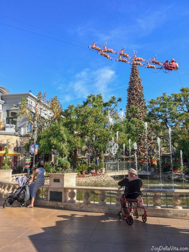 The Grove December Christmas Decorations Los Angeles Travel Blog JoyDellaVita