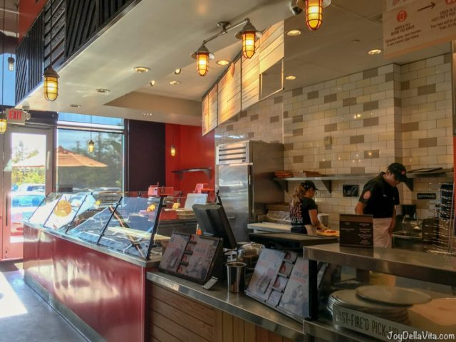 Inside Blaze Pizza