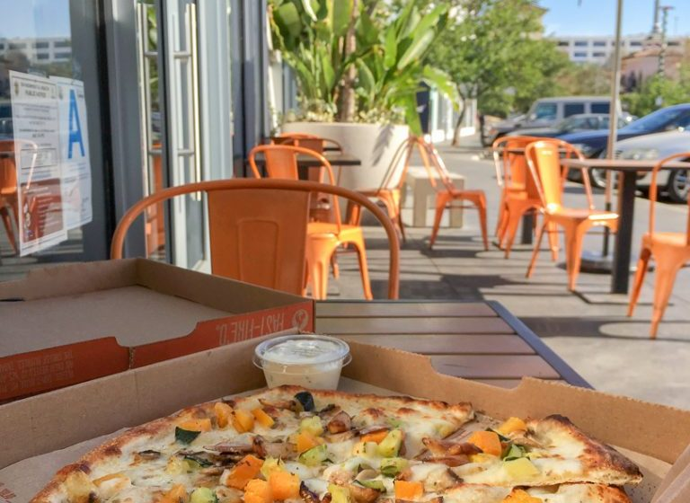 Build Your Own Pizza at Blaze Pizza by the Farmers Market at The Grove Los Angeles