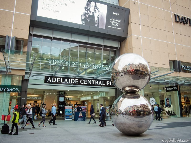 Mall's Balls at Adelaide Central Plaza on Rundle Mall