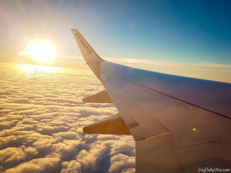 RyanAir On Board Prices (In-Flight Pricelist Food & Drinks)