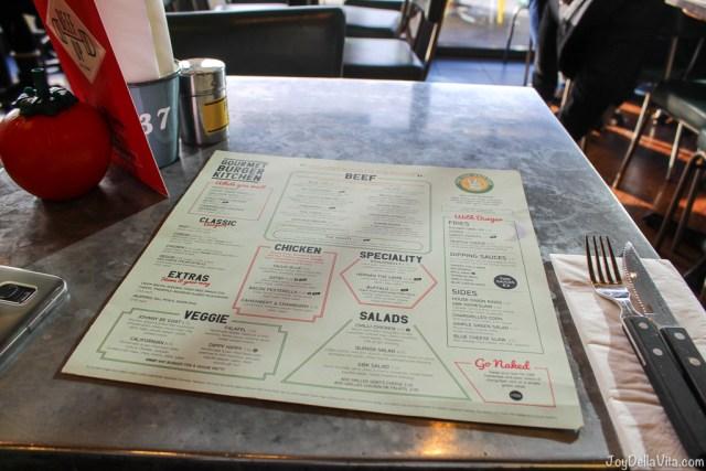 GBK Menu Gourmet Burger Kitchen Liverpool