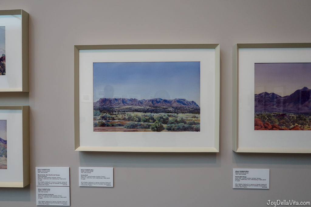 Albert Namatjira National Gallery of Australia Canberra