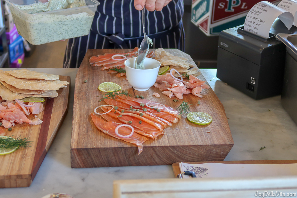 Pialligo Smokehouse Fish Platter, Dill Mayonnaise Pialligo Estate Canberra