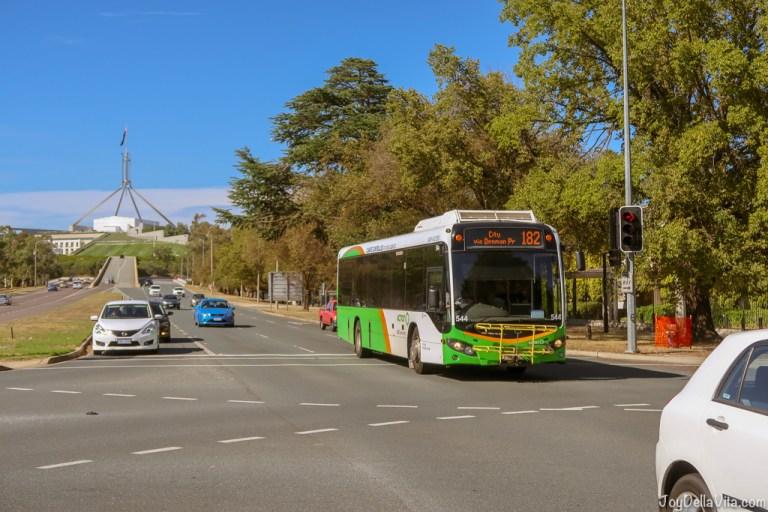 Public Transport in Canberra, Australia
