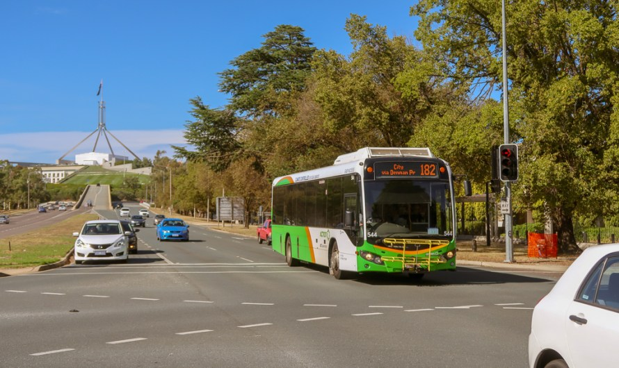 Public Transport in Canberra, Australia