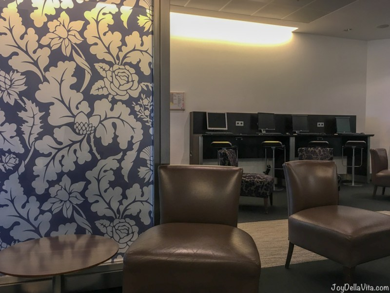 Qatar Airways Business Lounge at Munich Airport Terminal 1