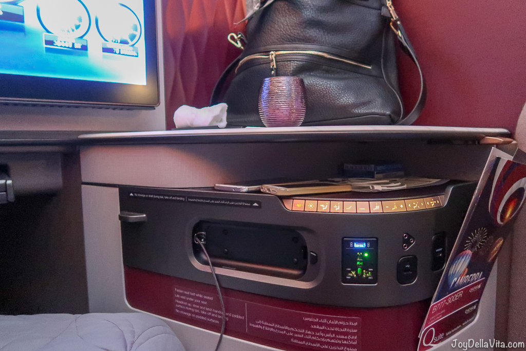 Qatar Airways Qsuite Business Class InFlight Entertainment