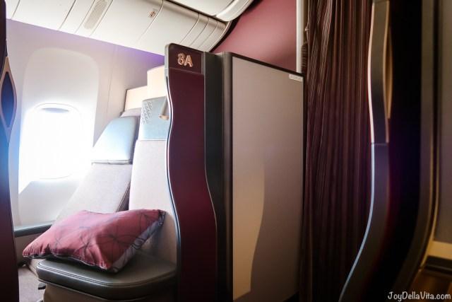 Qatar Airways Qsuite Business Class Seat 8D