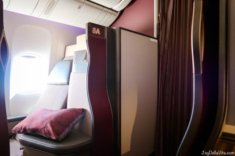 Qatar Airways Qsuite Business Class – my best flight experience so far!