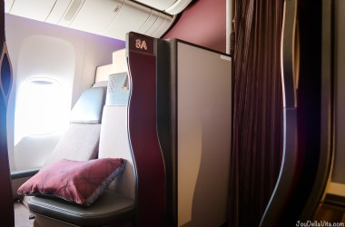 Qatar Airways Qsuite Business Class Seat 8D
