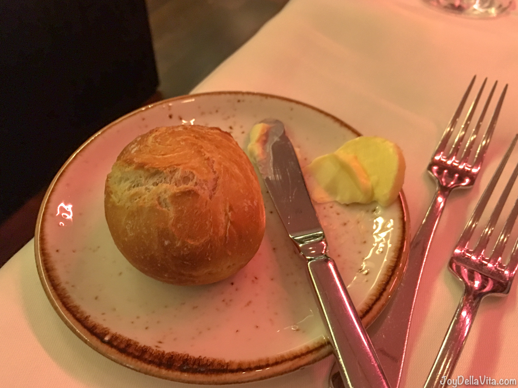 Bread Roll with butter Restaurant Berchtesgaden Kempinski